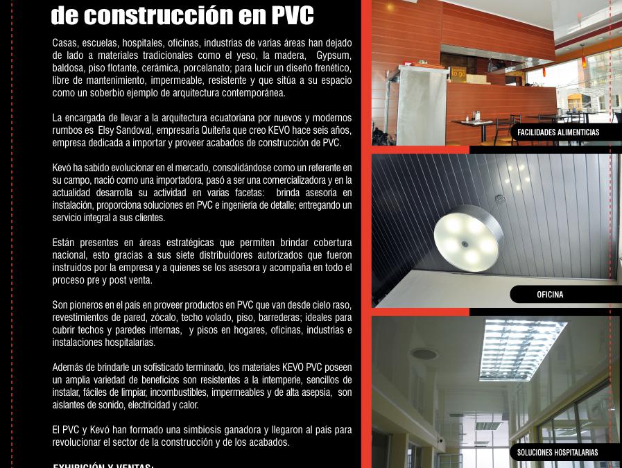 """Suplemento """"Constucción y Diseño"""" revista VISTAZO"""