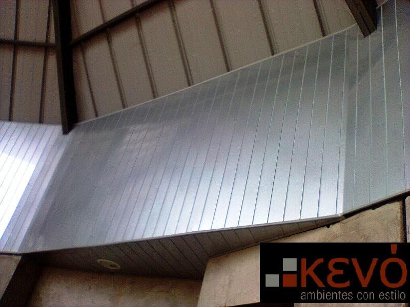 Recubrimiento de pared aluminio kevo - Recubrimiento para paredes ...