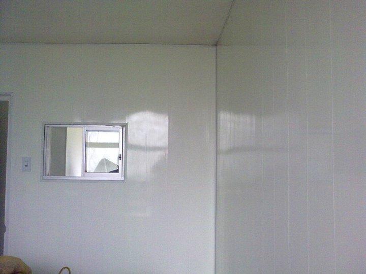 Recubrimiento de paredes blanco brillante kevo - Recubrimientos de paredes ...