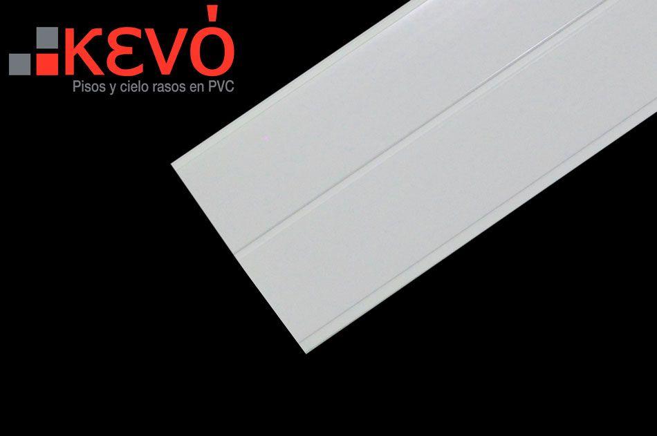 Panel Blanco acanalado mate