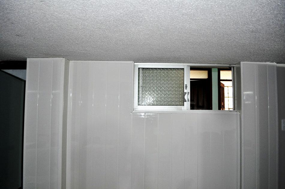 Recubrimiento de pared blanco acanalado brillante kevo - Recubrimientos de paredes ...
